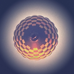 Heißluftballon - Heißluftballon, fahren, Luft, heiße Luft, Thermik, Aussicht, hoch, Luftdruck, Dichte, Auftrieb, Physik