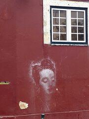 StreetArt in Lissabon - Graffiti, Mauerbilder, Graffito, Bild, Stencil, Kunstform, Wandmalerei, Schriftzug, Lissabon, Lisboa, Veränderung, StreetArt, Zeitgeist, Straßenkunst, Kultur, Kunst, Impression, Motiv