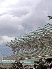 Lissabon Estação do Oriente - Bahnhof, Expo, Konstruktion, Dachkonstruktion, Gare do Oriente, Ostbahnhof, Lissabon, Lisboa, Portugal, Verkehr, Architektur