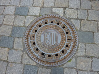Wappen Dresden - Wappen, Dresden, Meißner Löwe, Landsberger Pfähle, Stadtwappen