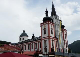 Basilika von Mariazell - Basilika, Mariazell, katholisch, Wallfahrtsort, Nationalheiligtum, Barock, Gotik