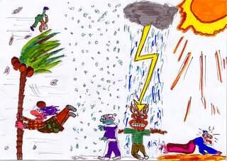 Klimawandel - Wetter, Klimawandel, Unwetter, Sturm, Gewitter, Hitze, Sonne, Schnee, Regen, Wolken, Klimaänderung, Klimawechsel, Klimaschwankung, Klimageschichte, globale Erderwärmung