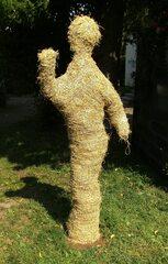 Strohfigur - Strohfigur, Stroh, Getreide, Herbst, Dekoration, Herbstdekoration