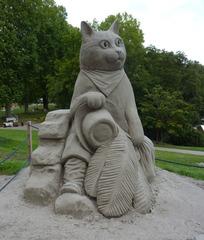 Skulptur aus Sand #2 - Skulptur, Sand, Sandskulptur, Kunst, Kunstwerk, Bildhauerei