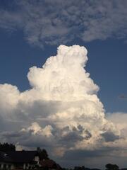Gewitterwolke Cumulonimbus - Wolke, Gewitter, Cumulonimbus, Gewitterwolke, Wettererscheinung