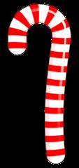 Zuckerstange - Zuckerstange, rot, weiß, gestreift, Weihnachten, Advent, Christmas, candy cane, sweets, Nascherei, Süßigkeit, süß, naschen, Wörter mit ng, Illustration