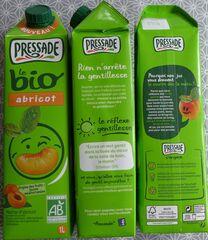 Jus d'abricot - bio, nectar, jus, fruits, biologique