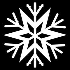 Schneeflocke 5a - snowflake, Schneeflocke, Schneestern, Schneekristalle, Eiskristalle, schneien, Winter, winterlich, Schnee, kalt, Eis, Einzahl, Singular, Eiskristall, Schneekristall, Anlaut Sch, Umriss, Umrissbild, Illustration