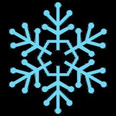 Schneeflocke 7b - snowflake, Schneeflocke, Schneestern, Schneekristalle, Eiskristalle, schneien, Winter, winterlich, Schnee, kalt, Eis, Einzahl, Singular, Eiskristall, Schneekristall, Anlaut Sch, blau, Illustration