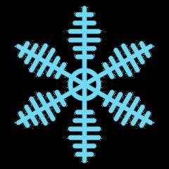 Schneeflocke 9b - snowflake, Schneeflocke, Schneestern, Schneekristalle, Eiskristalle, schneien, Winter, winterlich, Schnee, kalt, Eis, Einzahl, Singular, Eiskristall, Schneekristall, Anlaut Sch, blau, Illustration