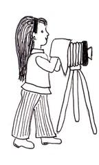 Fotografin - arbeiten, fotografieren, Fotograf, Fotografin, Fotoapparat, Kamera, Stativ