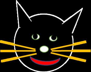 Katzenkopf - Katzenkopf, Augen, Fühler, Mund, Schnauze, Ohren, Schnäuzchen