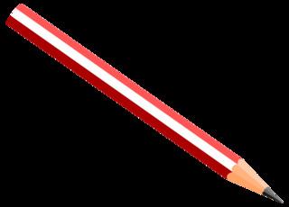 Bleistift 2 - Stift, Holzstift, Bleistift, Schreibgerät, Zeichenutensil, Utensil, schreiben, malen, zeichnen, aufschreiben, notieren, Notiz, Illustration