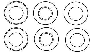 Vorlage Teller #1 - Teller, Vorlage, Spielvorlage, blanko, spielen