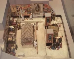 das Grab Echnatons - Grab, Echnaton, Aton, Tell el Amarna, altägyptischer König, Grabkammer, Bestattungsort