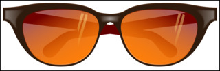 Brille - Brille, Sonnenbrille, Sonnenschutz, Sehhilfe, Illustration, Brillengestell, Anlaut B, Optik, Physik, Linse, Brechung