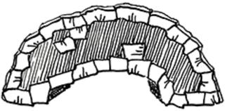 Brücke 1 - Brücke, Stein, Brückenbau, Brücken, bauen, Übergang, Schulübergang, Wechsel, Schulwechsel, Hände reichen, Mut, Erzählanlass, Märchen, Bach, Fluss