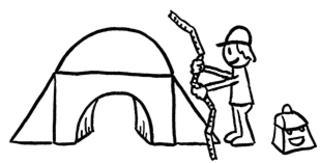 Brücke 4 - Brücke, Stein, Brückenbau, Brücken, bauen, Übergang, Schulübergang, Wechsel, Schulwechsel, Hände reichen, Mut, Erzählanlass, Märchen, Bach, Fluss, Bauklötze, Klötzchen, Klotz, Konstruktion, Geometrie, Körper, Mathe, Mathematik