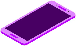 Smartphone 1 - Handy, Mobiltelefon, Telefon, Smartphone, cell phone, mobile phone, Kommunikation, Kontakt, telefonieren, fotografieren, surfen, spielen, informieren, Internet, Apps, Illustration