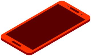 Smartphone 2 - Handy, Mobiltelefon, Telefon, Smartphone, cell phone, mobile phone, Kommunikation, Kontakt, telefonieren, fotografieren, surfen, spielen, informieren, Internet, Apps, Illustration
