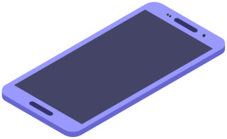 Smartphone 3 - Handy, Mobiltelefon, Telefon, Smartphone, cell phone, mobile phone, Kommunikation, Kontakt, telefonieren, fotografieren, surfen, spielen, informieren, Internet, Apps, Illustration