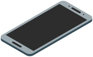 Smartphone 6 - Handy, Mobiltelefon, Telefon, Smartphone, cell phone, mobile phone, Kommunikation, Kontakt, telefonieren, fotografieren, surfen, spielen, informieren, Internet, Apps, Illustration