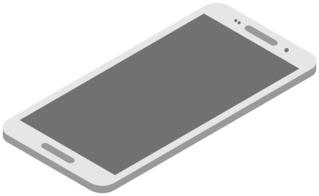 Smartphone 7 - Handy, Mobiltelefon, Telefon, Smartphone, cell phone, mobile phone, Kommunikation, Kontakt, telefonieren, fotografieren, surfen, spielen, informieren, Internet, Apps, Illustration