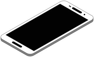 Smartphone 8 - Handy, Mobiltelefon, Telefon, Smartphone, cell phone, mobile phone, Kommunikation, Kontakt, telefonieren, fotografieren, surfen, spielen, informieren, Internet, Apps, Illustration
