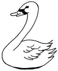 Schwan - Schwan, Laute, Anlaut sch, Vogel, Wasservogel