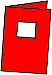 Heft rot - Heft, Schulheft, Schule, Schulmaterialien, schreiben, Anlaut H