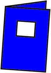 Heft blau - Heft, Schulheft, Schule, Schulmaterialien, schreiben, Anlaut H