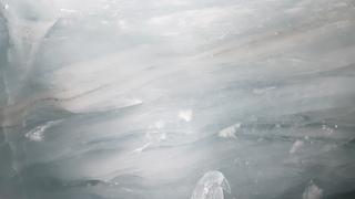 Gletscherschichten 01 - Gletscher, Gletscherschichten, Gletscher von innen, Alpen, Schweiz