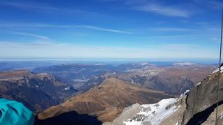 Sicht: Alpen, Mittelland, Jura - Alpen, Voralpen, Mittelland, Jura, Schweiz, Geologie, Geografie