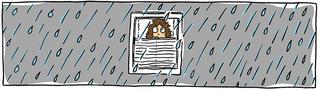 Regentag - Regen, Regentag, trist, Tristheit, grau, Winter, Herbst, Langeweile, Drinnen, Draußen, außerhalb, Erzählanlass, Beschreibung, Sturm, Bindfäden, es regnet, cats and dogs, rain, raining