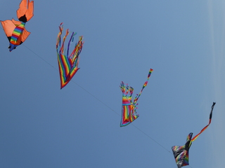 Drachen - Drachen, Wind, Luft, Flug, fliegen, Auftrieb, Physik