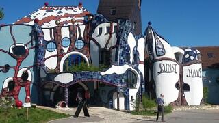 Hundertwasser Kunst-Haus in Abensberg - Hundertwasser, Kunst, Architektur, Bauwerkeä