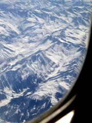 Gebirge - Gebirge, Berge, Flugzeug, Luftbild, Luftaufnahme, Vogelperspektive