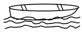 Boot - Boot, Anlaut B, Wörter mit doppeltem Selbstlaut, Wasserfahrzeug, kleines Schiff