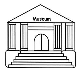 Museum - Museum, Anlaut M, Gebäude, Geschichte, früher