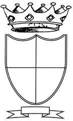 Wappen - Wappen, Anlaut P, Mitlautverdoppelung, Mittelalter, Burg, Schutzschild, Hoheitszeichen