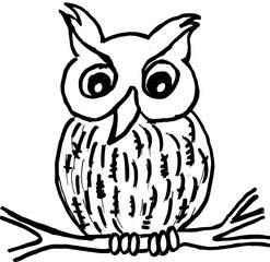 Eule - Eule, Anlaut Eu, Vögel, Tiere des Waldes