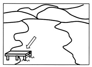 Steg - Steg, Anlaut St, Seeufer, Plattform, Aussichtspunkt, Anlegestelle, Schiffstagebuch, Badesteg