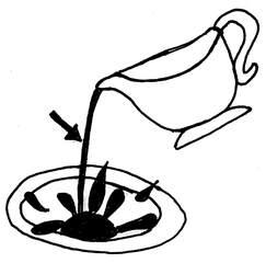 Soße - Soße, Wörter mit ß, Nahrungsmittel, Beilage, Flüssigkeit, Sauce, Brühe, Tunke