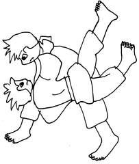 Judo - Judo, Anlaut J, Sport, Sportarten, Kampfsport, Freizeit