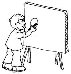 An die Tafel schreiben - An die Tafel schreiben, schreiben, Tafel, Anlaut T