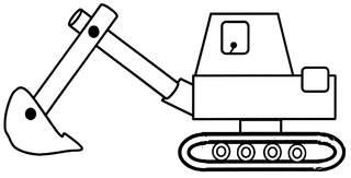 Bagger - Bagger, Anlaut B, Baufahrzeug, Spielsachen, Baumaschine
