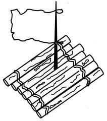 Floß - Floß, Anlaut F, Wörter mit ß, Wasserfahrzeug, Baumstämme, Schiffbruch, Antrieb, Luft
