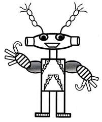 Marsmännlein - Marsmännlein, Roboter, Phantasiegestalt, Außerirdischer