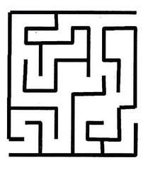 Labyrinth - Labyrinth, Wörter mit y, Irrgarten, Bauform, Geduldspiel, Linien, Wege, Richtungsänderung