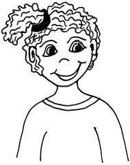 Mädchen - Mädchen, Person, Kind, Gesicht, Jugendliche, Kind, Anlaut M, Wörter mit Ä ä